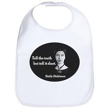 Literary Emily Dickinson Bib
