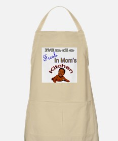 Made Fresh In Mom's Kitchen BBQ Apron