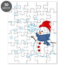 Cute Snowman Puzzle
