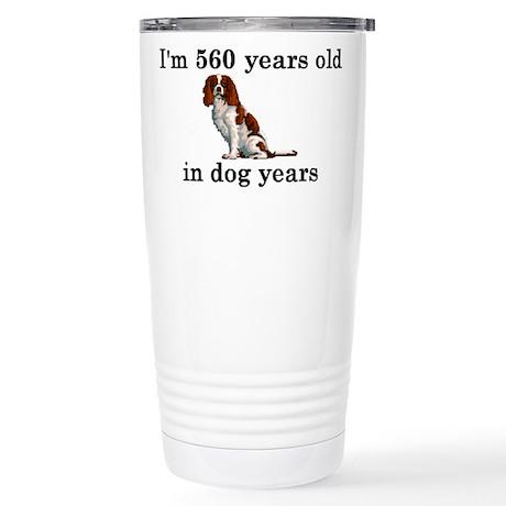 80 birthday dog years springer spaniel 2 Travel Mu