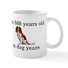80 birthday dog years springer spaniel 2 Mugs