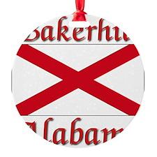Bakerhill Alabama Ornament