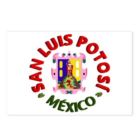 San Luis Potosí Postcards (Package of 8)
