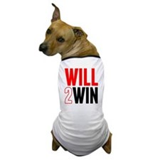Will2Win Red and Black Dog T-Shirt