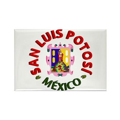 San Luis Potosí Rectangle Magnet (100 pack)