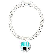 Will2Win Baby Blue  Blac Bracelet