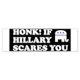 Anti hillary clinton Bumper Stickers