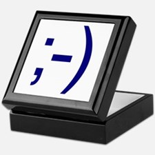 Internet Winkie Emoticon Keepsake Box