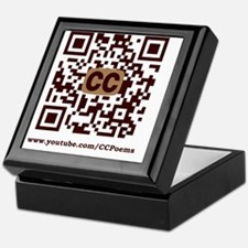 CCPoems QR Logo Keepsake Box