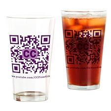 CCProseKids QR Logo Drinking Glass