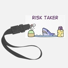 Risk Taker Luggage Tag