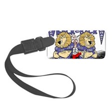 BACK 2 BACK Champs Luggage Tag