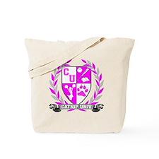 Catnip Crest for black Tote Bag