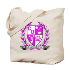 Catnip University Crest Tote Bag