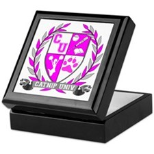 Catnip University Crest Keepsake Box
