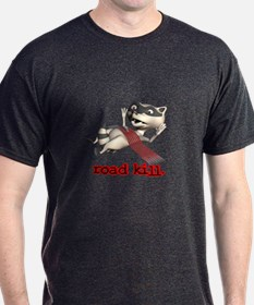 Funny Road Kill Racoon T-Shirt