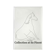 Collection at its Finest Rectangle Magnet