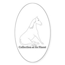 Collection at its Finest Oval Decal