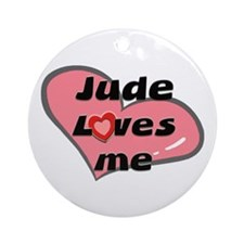 jude loves me  Ornament (Round)