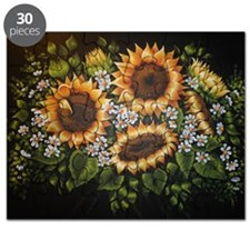 Sunflowers and Daisies Puzzle