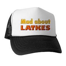 MAD ABOUT LATKES Trucker Hat