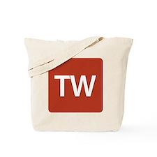 Triple-Word Tote Bag