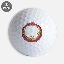 Ouroboros - Eternal Return Golf Ball