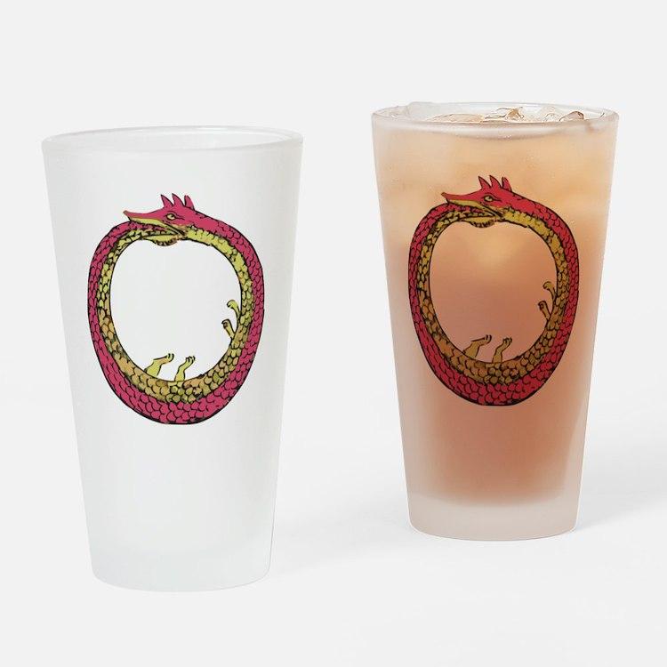 Ouroboros - Eternal Return Drinking Glass
