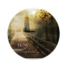 How to Disappear Completely Ornament (Round)