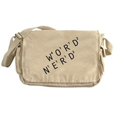 Word Nerd Messenger Bag