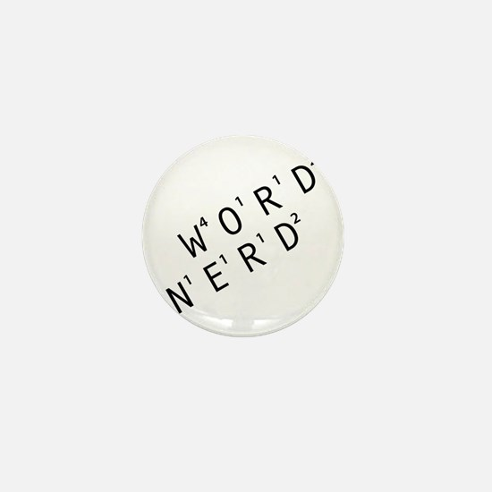 Word Nerd Mini Button