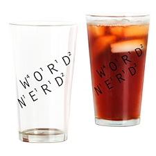 Word Nerd Drinking Glass