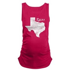 Pecos, Texas. Vintage Maternity Tank Top