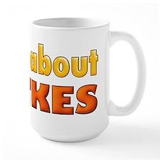 MAD ABOUT LATKES Mugs