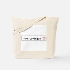 Boulevard Rene-Levesque, Montreal (CA) Tote Bag