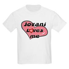 jovani loves me Kids T-Shirt