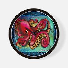 Ocean Octopus Wall Clock
