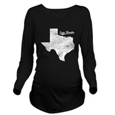 San Benito, Texas. V Long Sleeve Maternity T-Shirt
