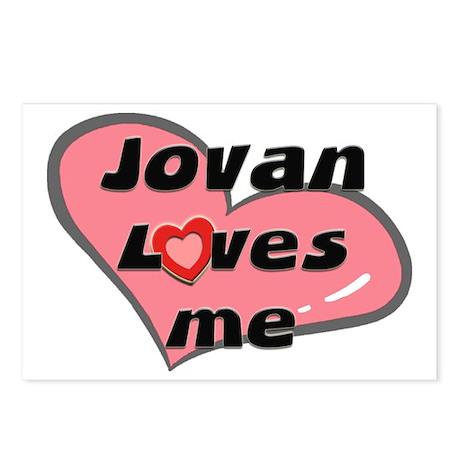 jovan loves me Postcards (Package of 8)