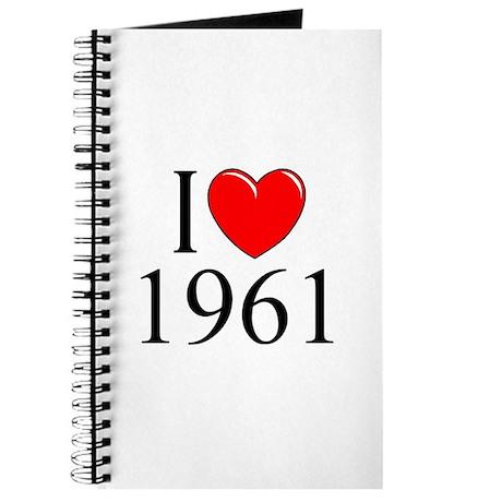 """""""I Love 1961"""" Journal"""