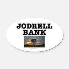 JODRELL BANK - ONE OFF THE WRIST 2 Oval Car Magnet