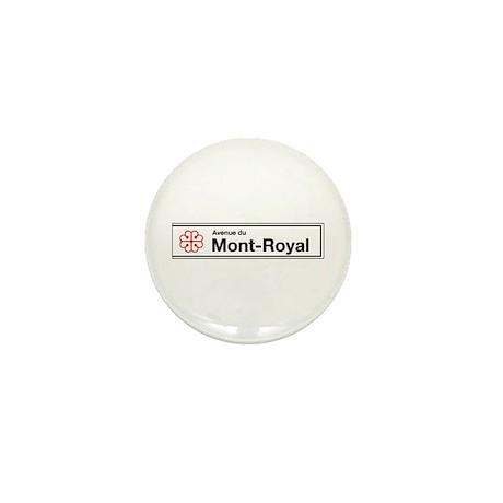 Avenue du Mont-Royal, Montreal (CA) Mini Button (1