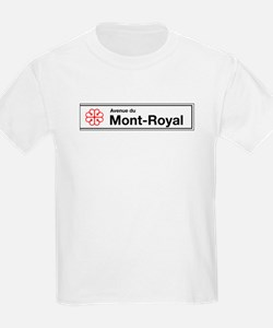 Avenue du Mont-Royal, Montreal (CA) Kids T-Shirt