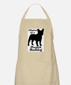 ADOPTED by French Bulldog BBQ Apron