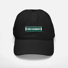 Broadway Street Sign Baseball Hat