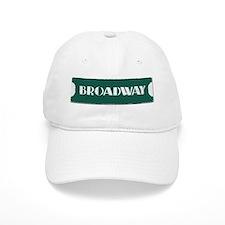 Broadway Street Sign Baseball Baseball Cap