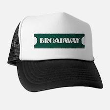 Broadway Street Sign Trucker Hat