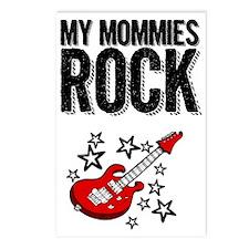 My Mommies rock Postcards (Package of 8)