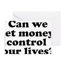 moneycontrolposter Greeting Card