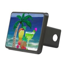 Tropical Drinks on the bea Hitch Cover